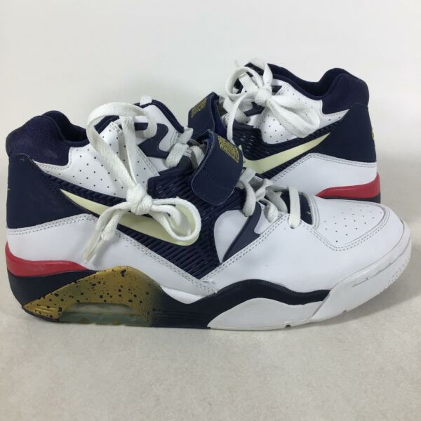 2004 Rare SAMPLE Nike Air Force 180, Olympic, Size 9, 310095141, SHOES-243
