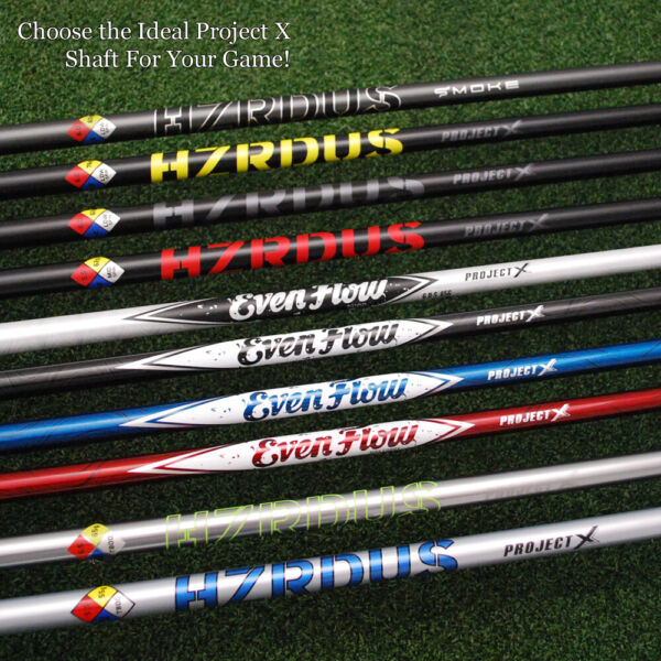 Ping Driver Replacement Shaft Choose Tip & Project X EvenFlow&HZRDUS&Smoke - NEW