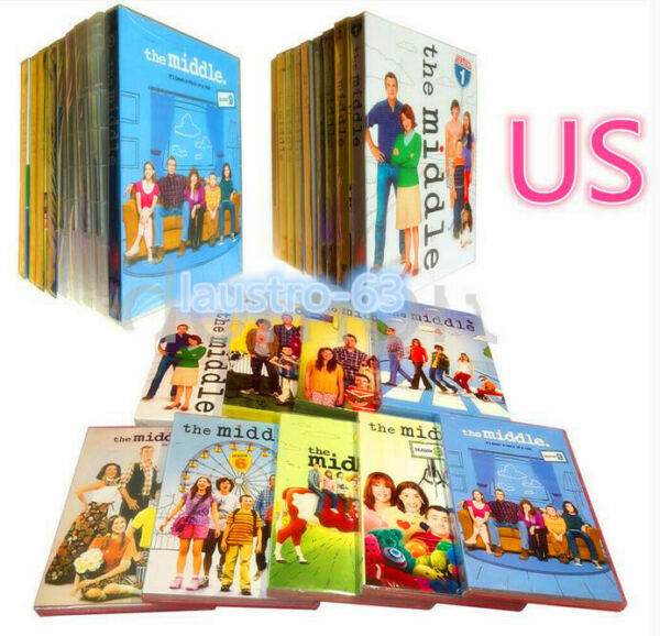 The Middle Complete Series Seasons 1-9 (DVD 27 Disc Set) 1 2 3 4 5 6 7 8 9 NEW!