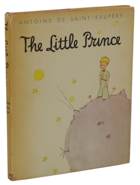 The Little Prince by ANTOINE DE SAINT-EXUPERY ~ First Edition DJ 1st 1943 Reynal