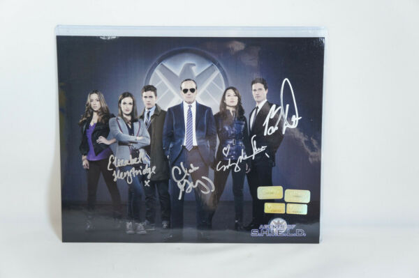 AGENTS OF SHIELD Cast X4 Signed 11x14 Photo IN PERSON celebrity authentics