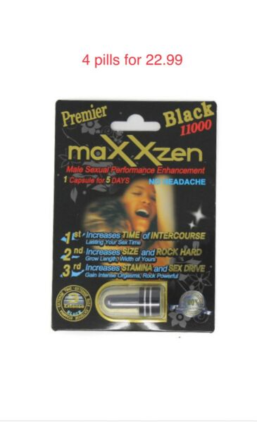 Authentic Premier MaxxZen Black 11000 pills