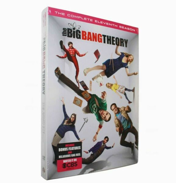 The Big Bang Theory: The Complete Eleventh Season 11 (DVD 2018)