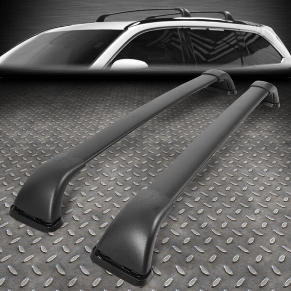 FOR 14 19 TOYOTA HIGHLANDER LE ROOF SIDE RAIL ALUMINUM CROSS BAR CARGO CARRIER $60.88
