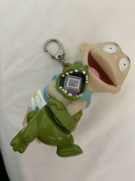 90s Vintage Rugrats Keychain Flashlight Tommy And Reptar $10.00