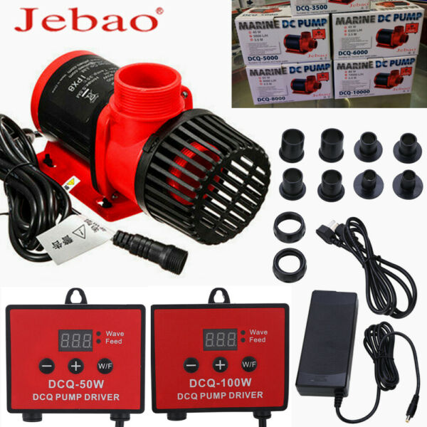 High Pressure Silent Submersible Aquarium Frequency Conversion Diving Water Pume