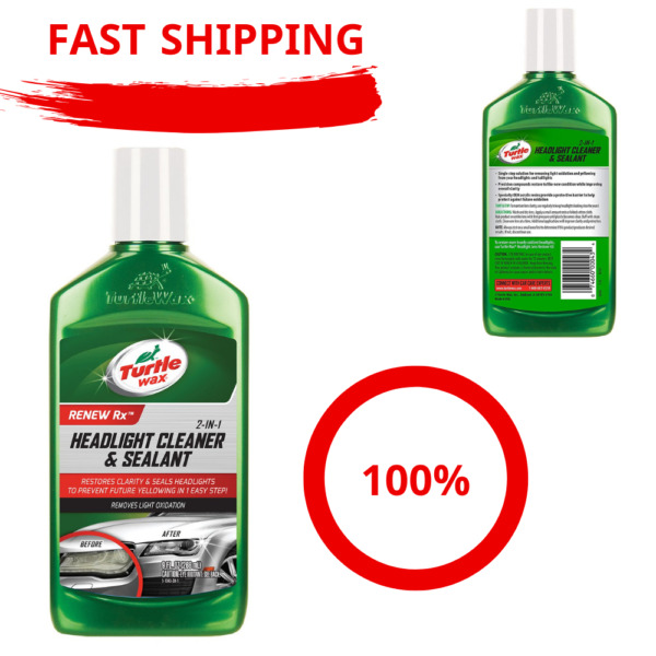 Restore Cleaner Lens  Headlight Restoration Kit Wipes Cleaning car washing
