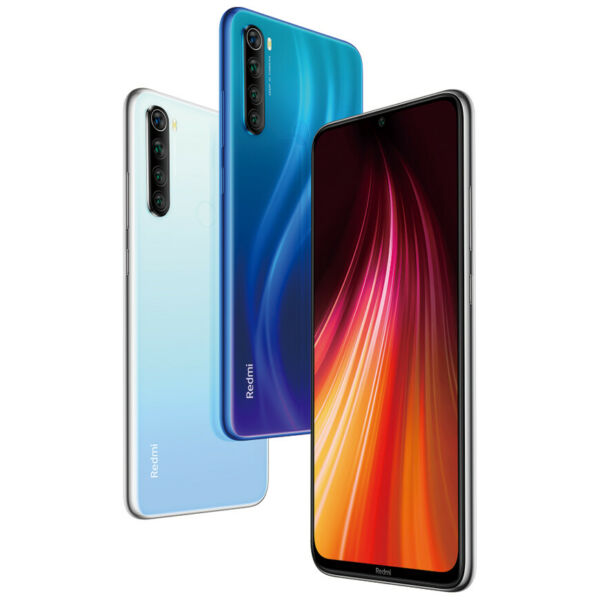 "Xiaomi Redmi Note 8 4+128GB Smartphone Handy Snapdragon 6.3"" 48MP Quad Camera"