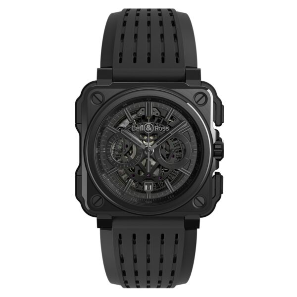 New Bell & Ross BR-X1 Phantom Black PVD Titanium 45 mm Watch BRX1-PHANTOMSRB