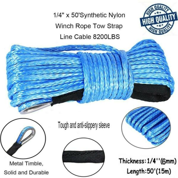 Synthetic Winch Rope 14