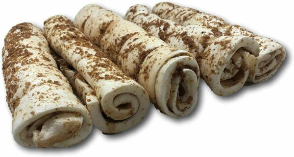 Top Dog Chews Buffalo Beef Cheek Rolls with Bully Dust Sprinkles 5 Pack from $32.95