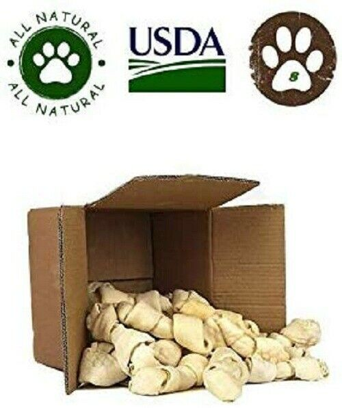 Top Dog Chews 8quot; 10quot; Rawhide Bones 8 Pack Large Bones from $25.95