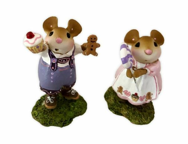 Wee Forest Folk Special Hansel and Gretel Set Event WFF Both Sold Out