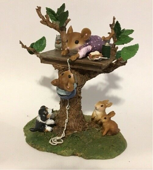 Wee Forest Folk Special Color Summer Family Tree House
