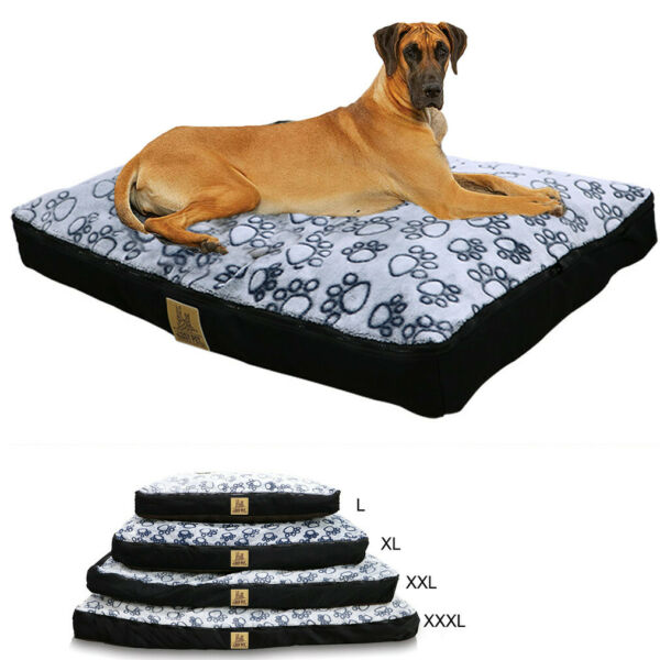 Jumbo Pet Dog Bed Dog XXL Extra Large Waterproof Soft House Crate Bed Zip Cover $25.94
