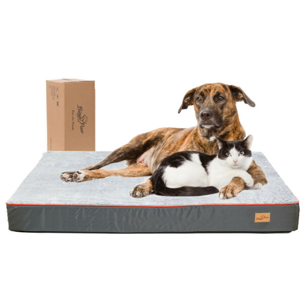 Extra Large Dog Bed Soft Foam Orthopedic Durable Jumbo XL Self Warm Mattress Bed $16.93