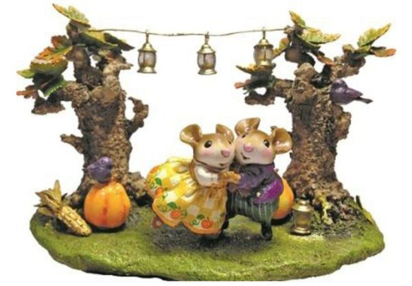 Wee Forest Folk Special Color Harvest Moon Sold Out Plus Matching pin