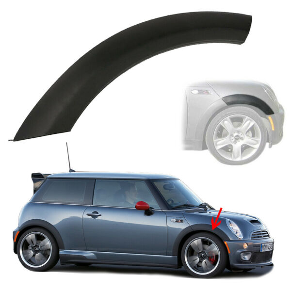 Front Wheel Right Side Upper Fender Arch Cover Trim for 2002-2008 Mini Cooper