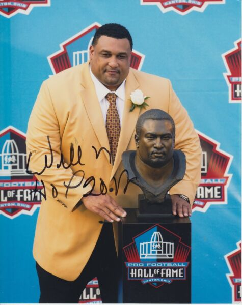 WILLIE Roaf WHOF 2012 #0  8x10 Signed Photo w COA Hall Of Fame