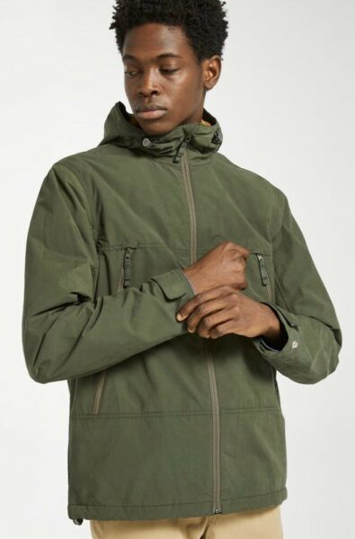 NEW Timberland Men#x27;s Ludlow Mountain Lightweight Jacket Green Sz L $178 $49.97