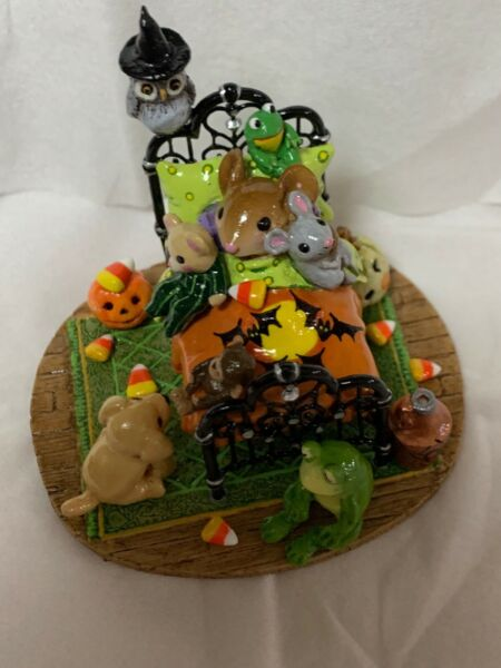 Wee Forest Folk Special Halloween OAK One of A Kind Creature Comforts SO CUTE!