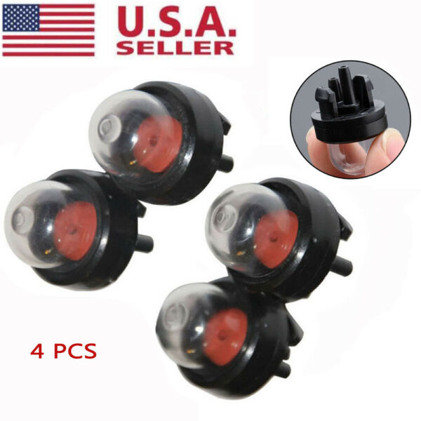 4 PCS Primer Bulb For Homelite Craftsman Chainsaws Blowers Trimmer 188-512 US