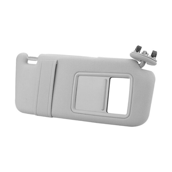 Gray Right Passenger Side Sun Visor WithOut Sunroof for 2007-2011 Toyota Camry