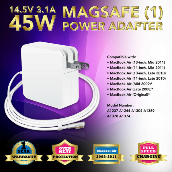AC Adapter Charger Cord for Apple Macbook Air 11