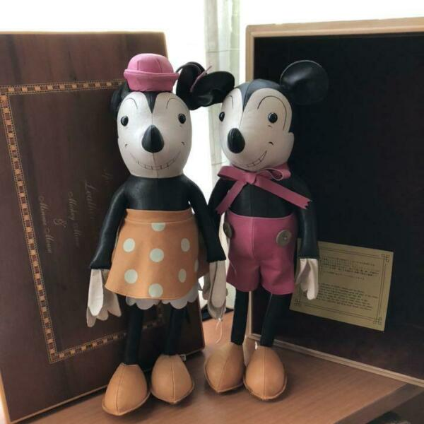 Plush Doll Young Epoch Limited item Mickey Mouse & Minnie Mouse Retro toy 611MT