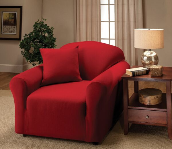 JERSEY FITTED SLIPCOVERS FOR CHAIR SOFA COUCH LOVESEAT amp; RECLINER SIZES BUY NOW $34.50