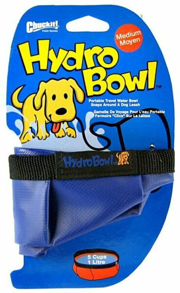 Chuckit Hydro-Bowl Travel Water Bowl Medium - Holds 5 Cups