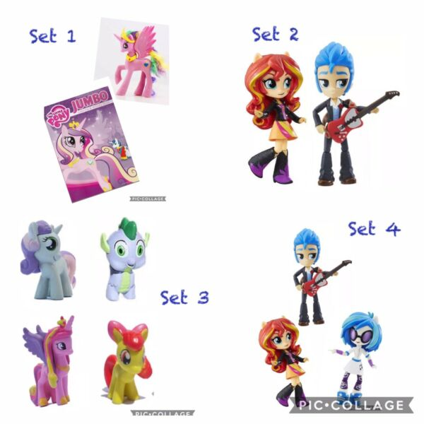 Plush My Little Pony Easter Basket Action Figures Equestrian Girl Boy Doll Toys