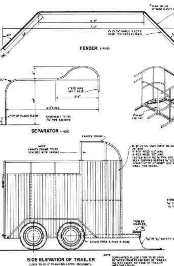 Modern Farm Plans Horse barns and trailers BBQ Smoker Chicken coop log cabin