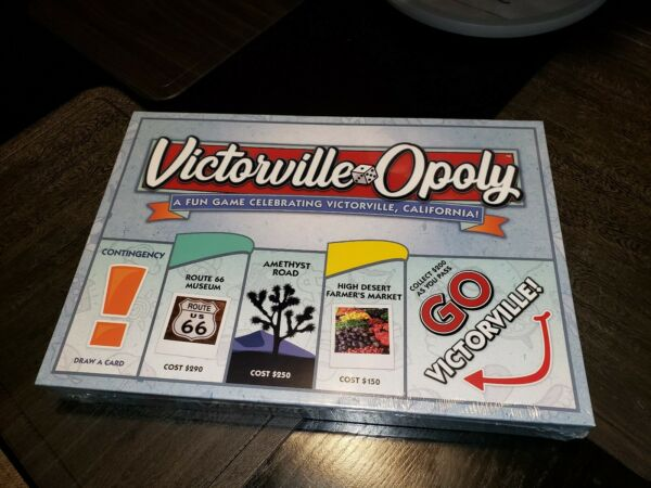 Victorville Opoly Board Game by Late For Sky  High Desert  California Sold out