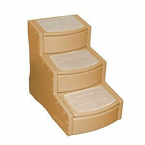 Easy Step III Pet Stairs for dog cat Tan