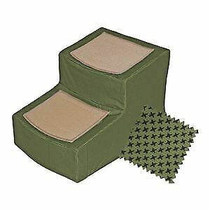 Pet Gear Designer Stair II Removable Cover stairs dogs cats max 150 lbs Sage