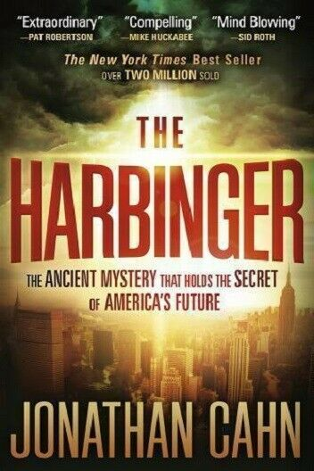 The Harbinger by Jonathan Cahn ancient secret mystery paperback FREE SHIPPING