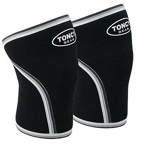 1 Pair Knee Sleeves-7mm Neoprene Compression Knee Support For Squatting WorkoU..