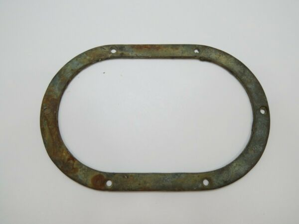 BRONZE TRIM RING PORT HOLE LIGHT PLUMBING TRIM BACKER BOAT SAIL B4A143