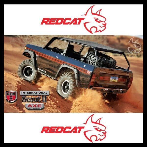 Redcat Gen8 International Scout II AXE Edition with Brushless Motor