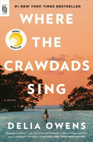 Where the Crawdads Sing Paperback by Owens Delia Like New Used Free shipp...