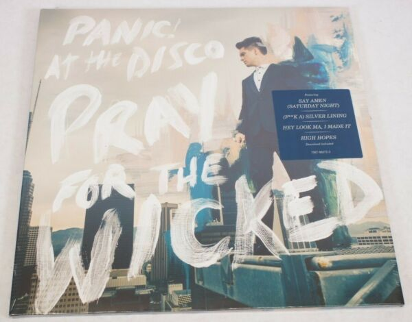 NEW Panic! At the disco Pray For The Wicked LP Vinyl Record - Sealed