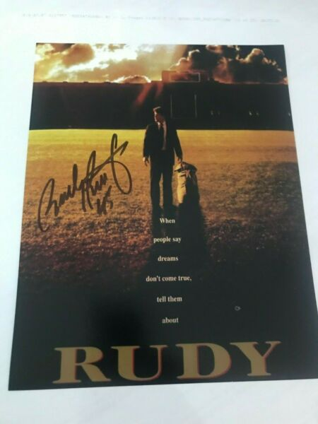 RUDY RUETTIGER Signed Movie Poster 8x10 Photo  * Notre Dame