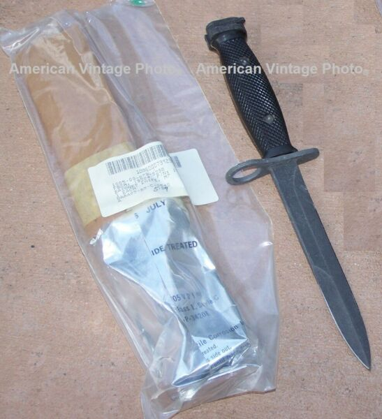 Knife M7Bayonet GENCUT NEW Factory Sealed Genuine USA Military Camping Hunting