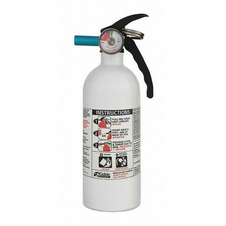 KIDDE AUTO FX5 II Fire Extinguisher 5B:C Dry Chemical 2 lb.
