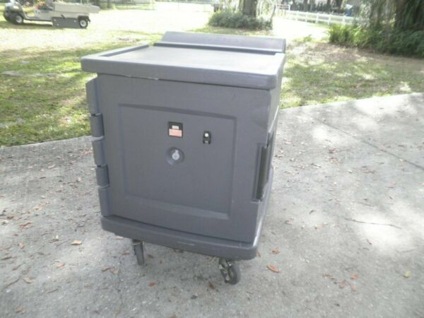 Cambro CMBH1826L Camtherm Electric Mobile Food Holding Cabinet Hot Box Warmer $595.00