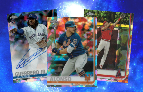 2019 TOPPS CHROME SAPPHIRE EDITION BASEBALL LIVE RANDOM PLAYER 1 BOX BREAK #3