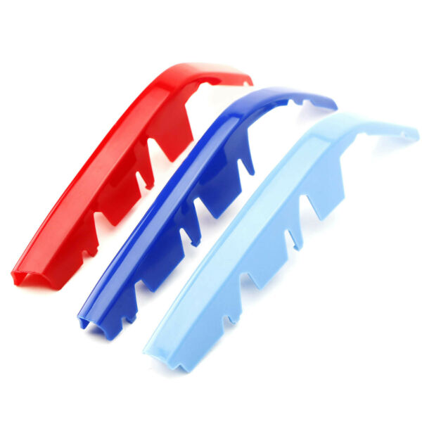 M-Colored Grille Insert Trims For 19+ BMW G20 3 Series M340i w 8-Beam Grille