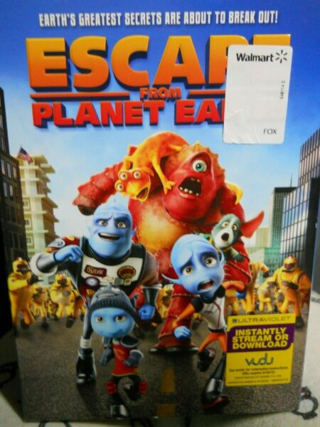 Escape From Planet Earth DVD  $9.99