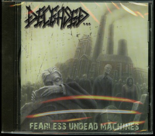 Deceased Fearless Undead Machines CD new reissue